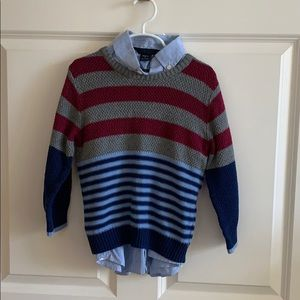 Sweater/shirt combo perfect for fall size S
